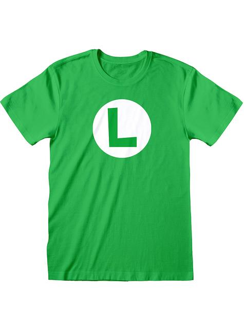 Koszulka Luigi - Super Mario Bros