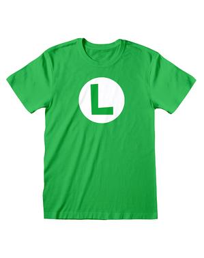 Camiseta Luigi - Super Mario Bros