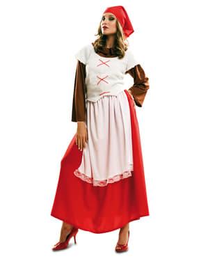 Hirtin aus Bethlehem Kostüm für Damen