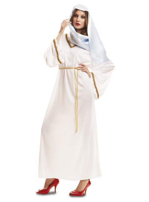 Disfraz de Virgen María bondadosa para mujer