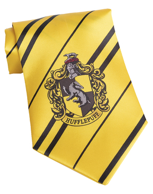 Cravată Harry Potter Hufflepuff