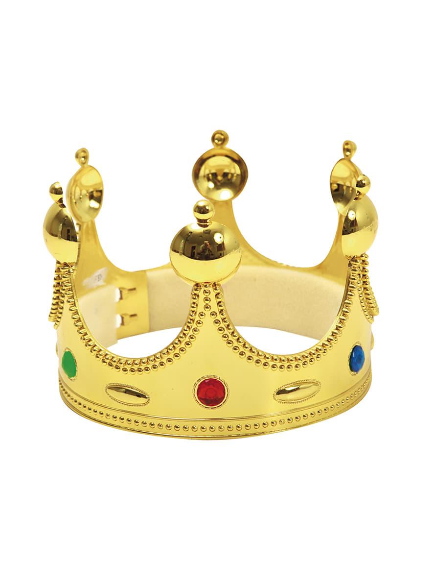 Corona de rey mago infantil disfraz funidelia - Coronas infantiles de cumpleanos ...