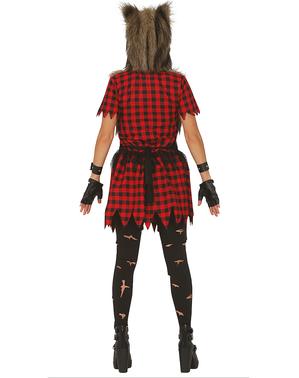 Wolfsfrau Kostüm