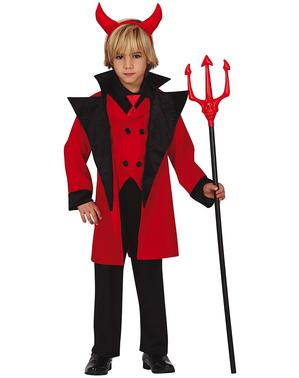 Costum de diavol infernal pentru băiat