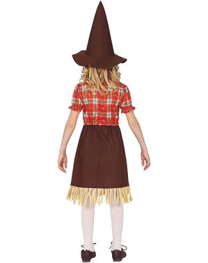 Prijateljski Strašilo kostim za djevojčice