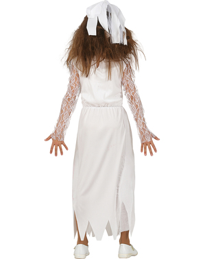 Bloody Zombie Bride Costume for Girls
