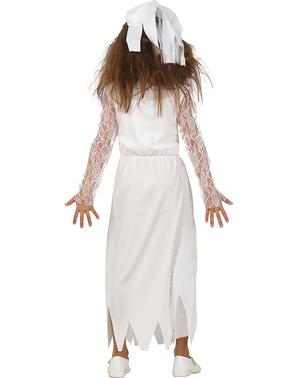 Blutiges Zombie-Braut Kostüm für Mädchen