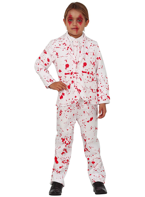 Bloody White Suit for Kids