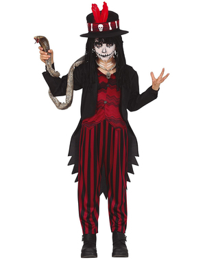 Voodoo kostyme til gutter