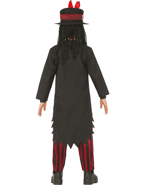 Disfraz de vudú para niño