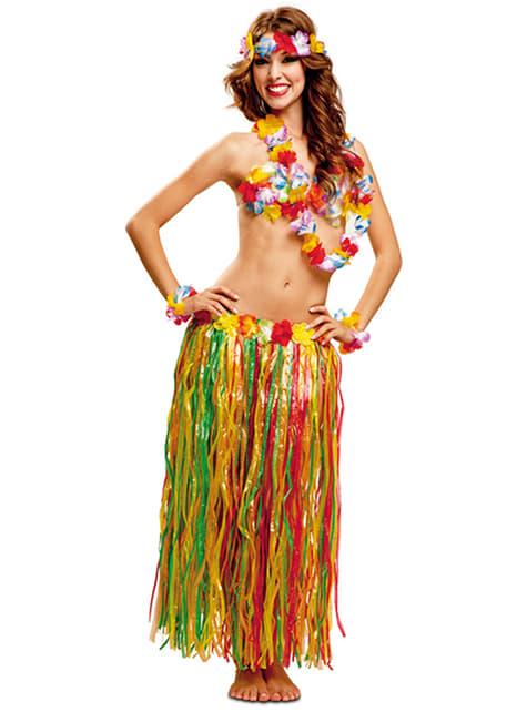 Set de hawaiana para mujer