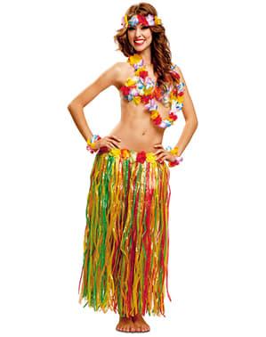 Жіноча гавайська краса встановити