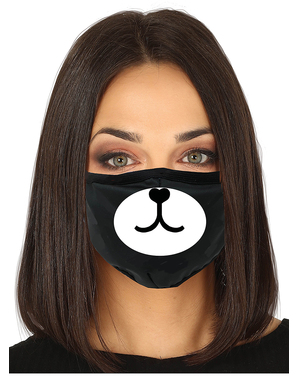 Bear Face Mask for Adults