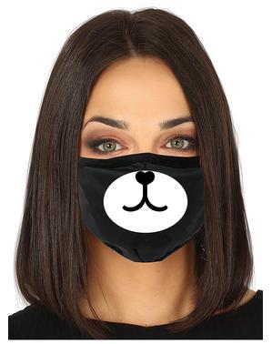 Máscara de urso para adulto