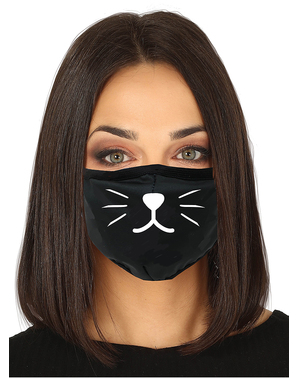 Cat Face Mask for Adults