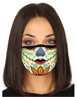 La Catrina ansiktsmaske til voksne