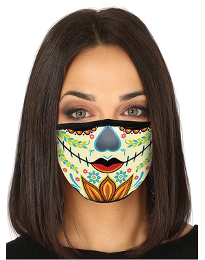 La Catrina Face Mask for Adults
