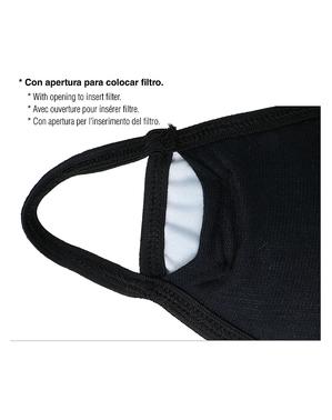 Mörderclown Mund-Nasen-Maske für Erwachsene