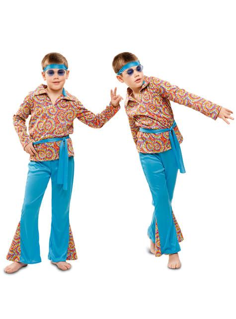 Kostium psychodeliczny hippie dla chłopca