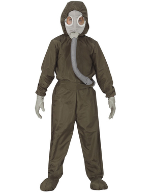 Nuclear Hazmat Suit Costume for Kids