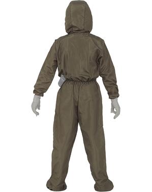 Nucleair Hazmat pak kostuum voor kinderen