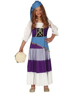 Zigeunerin Kostüm für Kinder