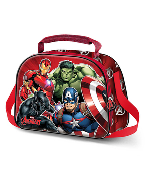 The Avengers 3D Lunch Bag - Marvel