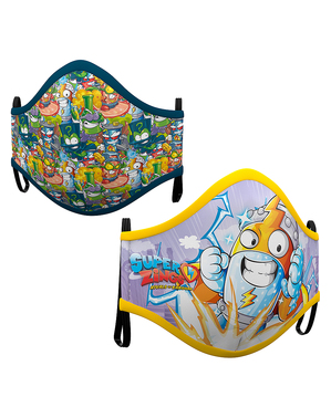 Máscara de Super Zings infantil (2 unidades)