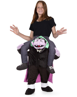 Count von Count Sesame Street Ride On Costume for Adults