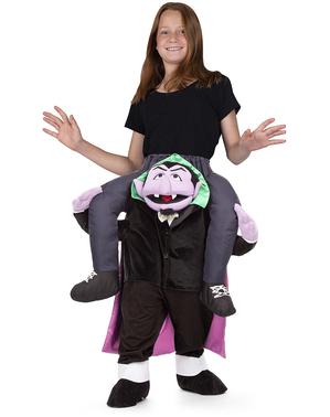 Fato de Conde de Kontarr Rua Sésamo ride on para crianças