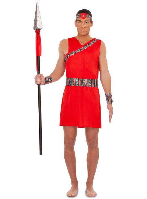 Masai kostuum voor mannen