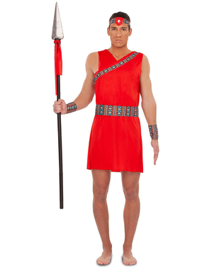 Kostým Masai pro muže