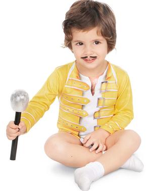 Freddie Mercury Queen kostyme til babyer