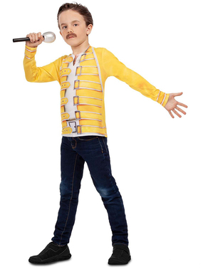 Freddie Mercury Queen T-Shirt für Jungen