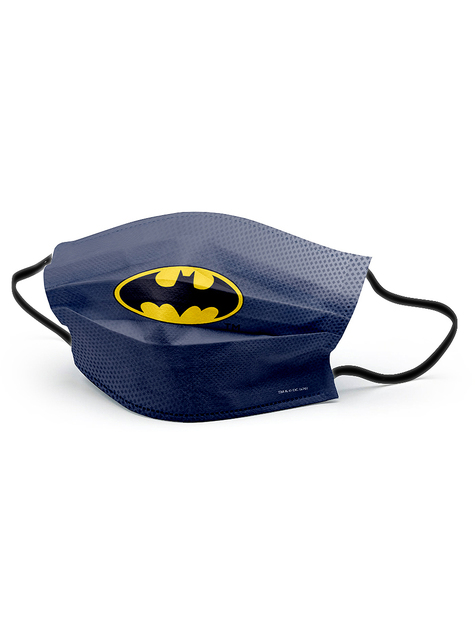 Mascarilla Batman negra para adulto