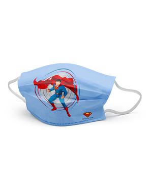 Superman Mund-Nasen-Maske für Kinder