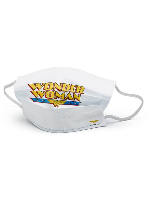 Wonder Woman gezichtsmasker voor meisjes