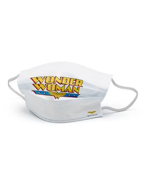 Wonder Woman Mund-Nasen-Maske für Mädchen
