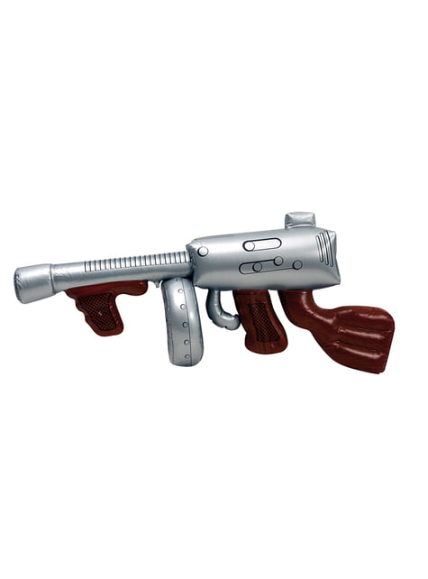 Inflatable Machine Gun with Super Magazine