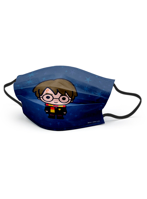 Kawaii Harry Potter Face Mask for Kids