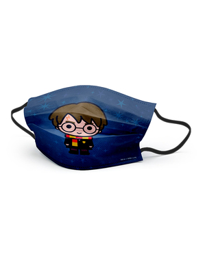 Mascarilla Harry Potter Kawaii infantil