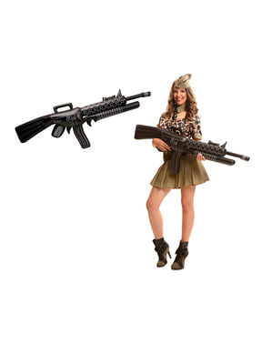 Oppblåsbar Militærmaskin Våpen