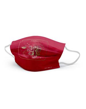 Gryffindor Ansigtsmaske til Børn - Harry Potter