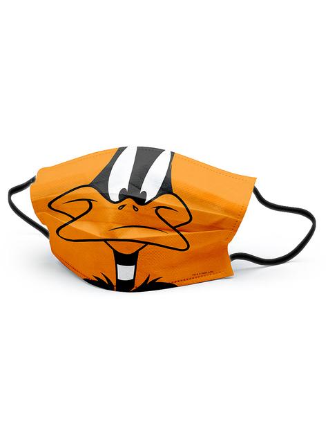 Daffy Duck Mund-Nasen-Maske für Kinder - Looney Tunes