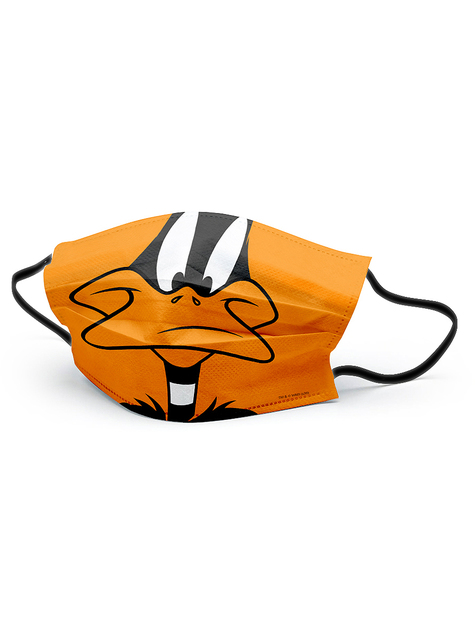 Daffy Duck Face Mask for Adults - Looney Tunes