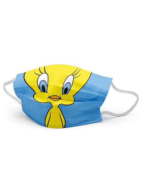 Mascarilla Piolín infantil - Looney Tunes