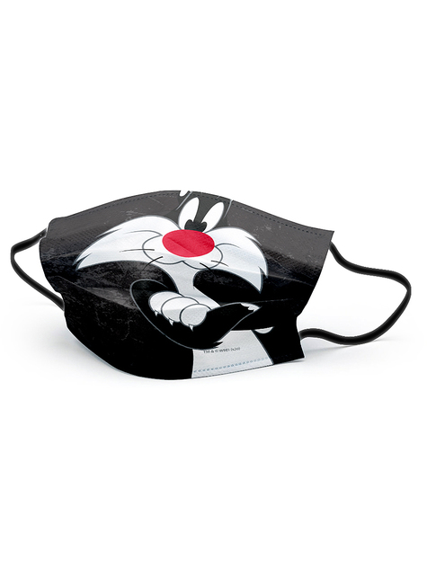 Sylvester the Cat Face Mask for Kids - Looney Tunes