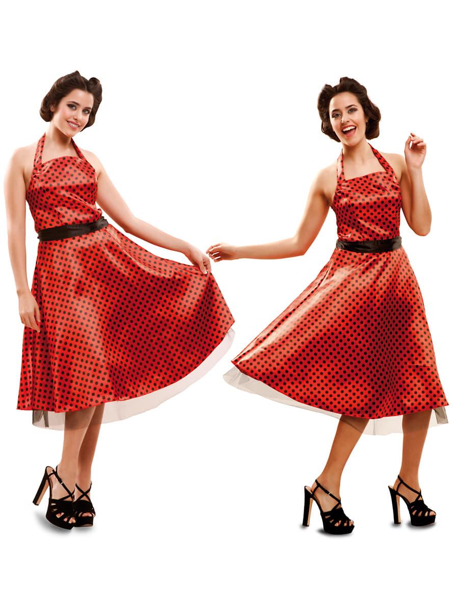 Costume Da Ragazza Anni U0026#39;50 Elegante Per Donna | Funidelia