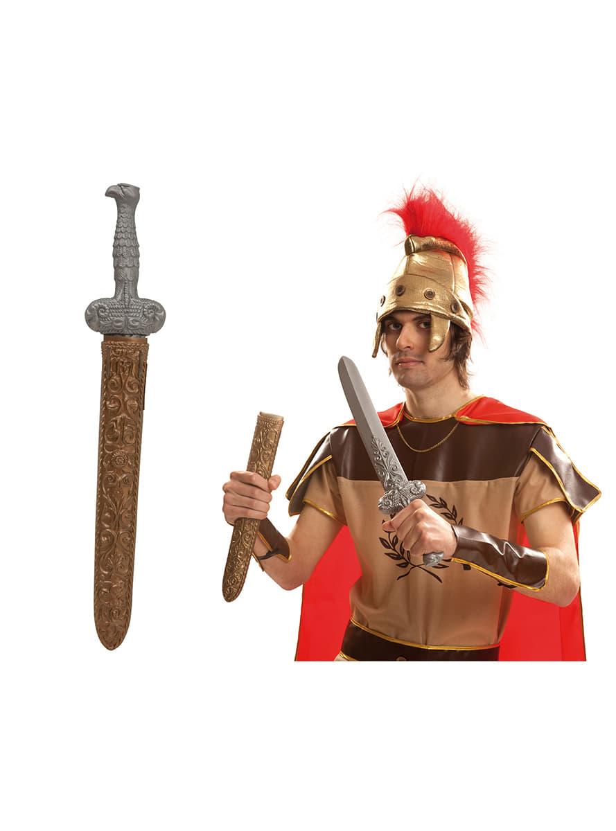 49151ebc4a6 Épée guerrier romain avec housse. Les plus amusants