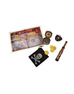Kit de pirata en busca del tesoro